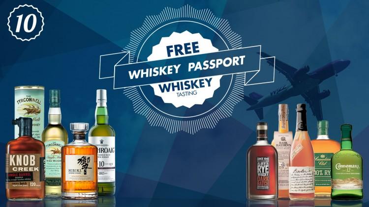 free whiskey tasting blaine top ten liquors