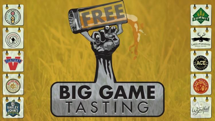Big Game Craft Beer Tasting | Blaine - Top Ten Liquors