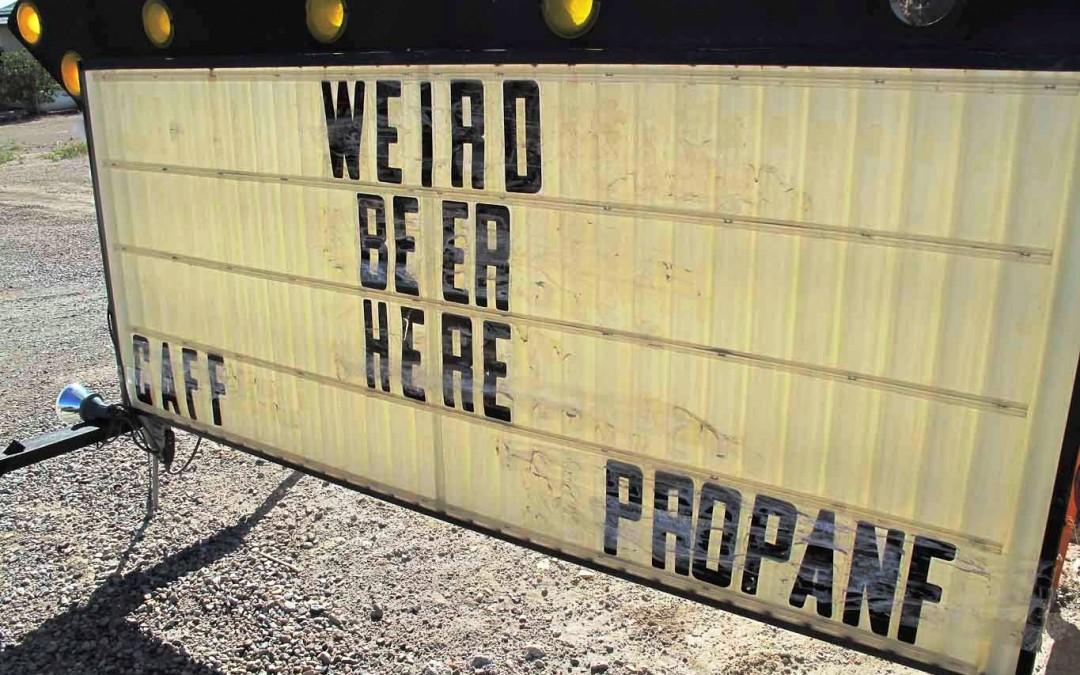 Weird Beers for Weird Weather