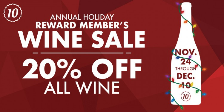 Holiday Wine Sale