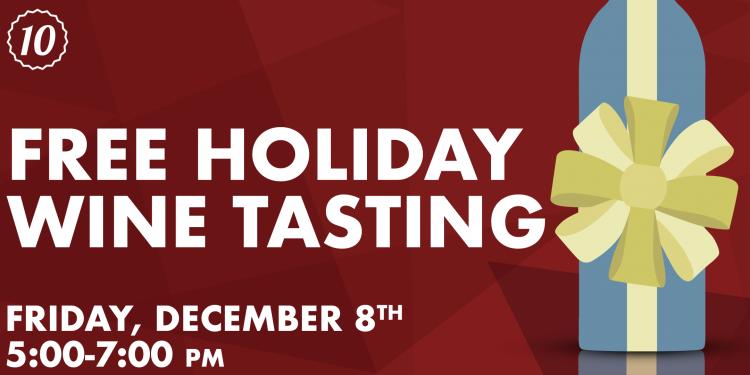 Free Holiday Wine