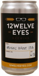 12welve Eyes Mosaic Wheat IPA