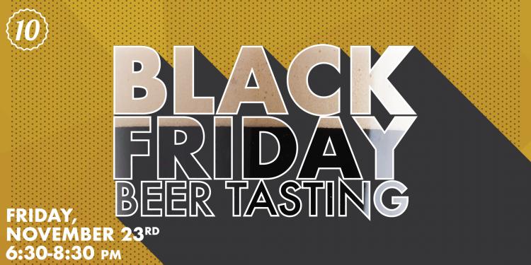 Black Friday Beer Tasting | Ramsey - Top Ten Liquors