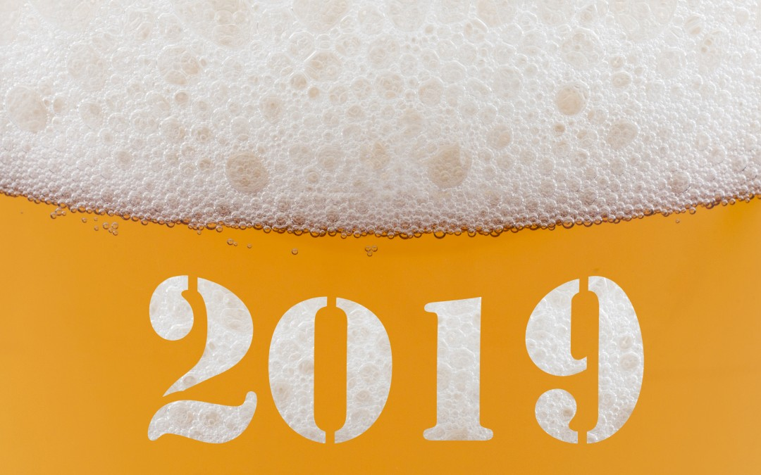 Three New Year's Beers to get you Off on the Right Foot