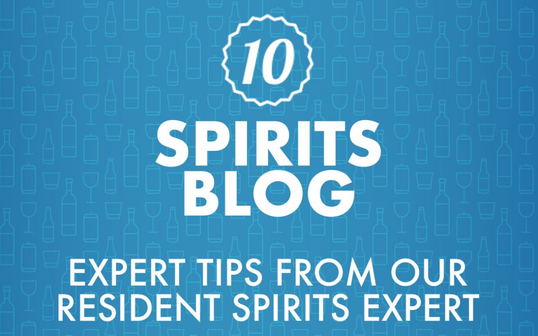 Welcome to Top Ten's Spirits Blog